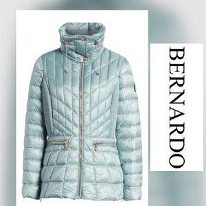 NEW BERNARDO Gray Thermoplume Insulated Jacket
